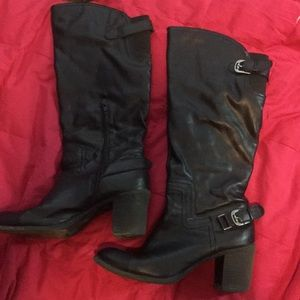 Shoes - Black boots size 10